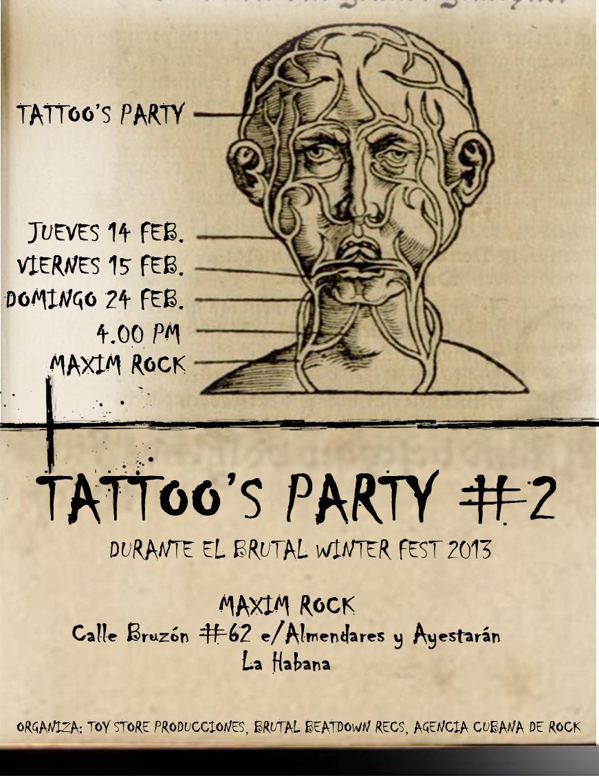 Además, los días 14, 15 y 24 de febrero, desde las 4:00 p.m., en este mismo escenario se desarrollará la segunda edición del concurso Tattoo's Party, donde expertos del tatuaje mostrarán y realizarán en vivo sus creaciones.